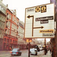 DDR street sign