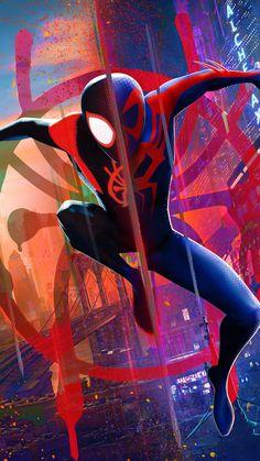 Miles Spiderman, Miles Morales Spiderman, Black Spiderman, Spiderman Movie, Spiderman Spider, Amazing Spiderman, Marvel Art, Marvel Heroes, Siper Man