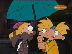 Arnold and Helga Video: Losing My Religion A Hey Arnold! Hey Arnold, Arnold And Helga, Gifs, Bow, Old Shows, Kid Rock, Old Cartoons, Por Tv, Cartoon Shows