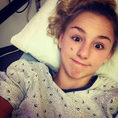 "Chloe had surgery because of a health issue and people are saying she had surgery to make herself pretty because she is ugly! What? I can't even believe this, oh wait yes I can! People are sick now a days! I love you Chlo, and you are beautiful, no matter what ""they"" say."