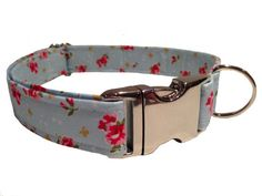 This lovely floral pattern. | 22 Adorable Dog Collars Every Dog Owner Needs