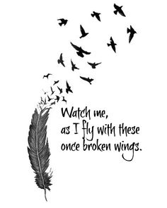 Tattoo Bird Line quotes ideas – foot tattoos for women quotes Bird Quotes, Cute Quotes, Feather Quotes, Positive Quotes, Motivational Quotes, Inspirational Quotes, Lines Quotes, Foot Tattoos, Reality Quotes