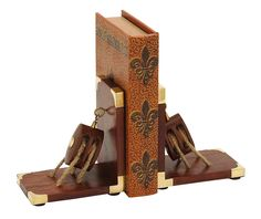 Deco 79 Wood and Brass Anchor Bookends * Check this awesome image  : Home Decorative Accessories