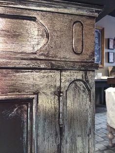 Superb Artisan Enhancements Silver Foil Finish Detail By Amy Chalmers Of Maison  Decor.