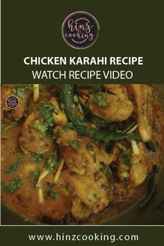 """Try this Pakistani Chicken Karahi Recipe Restaurant Style to add value to your dining experience. If you are looking at """"how to make chicken karahi"""" then Pakistani Rice Recipes, Pakistani Chicken Recipes, Pakistani Dishes, Indian Food Recipes, Vegetarian Recipes, Cooking Recipes, Chicken Snacks, Best Chicken Recipes, Chicken Karahi Recipe Pakistani"""