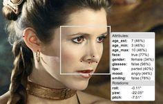 face.com met à disposition une API de reconnaissance faciale permettant de déterminer l'âge, le sexe et l'humeur des sujets photographiés