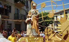 Jelsi e la tradizionale Festa del Grano in onore di Sant'Anna   Molisiamo