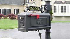 Locking Mailbox Premium Secure Cast Aluminum Mailbox from Better Box Mailboxes