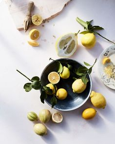 Our Most Beautiful Lemon Recipes | Martha Stewart - There's nothing this sunny citrus can't make better, brighter, or more delicious. Here, a host of eye-catching dishes starring lovely lemons. #lemondessert #lemonflavor #lemonzest #lemonchicken