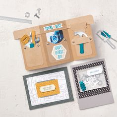 Nailed It Wood-Mount Stamp Set by Stampin' Up!