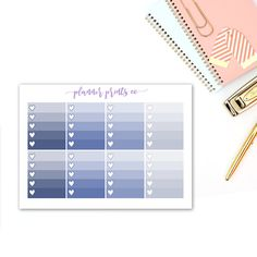 Designed to fit Erin Condren vertical planner but suitable for use in any planner.  Additional Coordinating items are available. .............................................................. Each sticker is individually kiss cut and ready to peel off from the backing. Please note that colours may vary slightly dependent on your computer monitor and paper choice. .............................................................. Please see your receipt for estimated shipping date after you have…