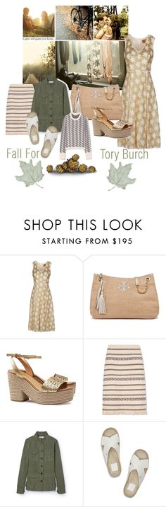 """""""Fall For Tory Burch"""" by lolly-p ❤ liked on Polyvore featuring Tory Burch"""