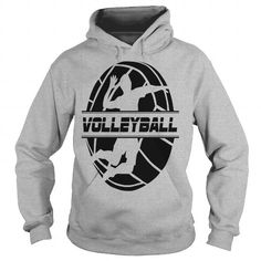 Awesome Tee Volleyball Black Version TShirt T-Shirts