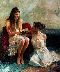 reading with a sister