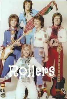 The Bay City Rollers at the height of Rollermania!