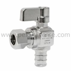 "LEAD FREE 1 5//8/"" OD X 3//8/"" OD 1//4 TURN COMPRESSION ANGLE STOP VALVE FULL PORT"