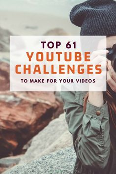 There are all kinds of challenges out there you ca Youtube Challenges Ideas, Challenges To Do, Youtube Tips, You Youtube, Youtube Logo, Youtube Money, Friends Youtube, Channel, Youtube Kanal