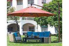 Top 10 Best Offset Patio Umbrella In 2017 Reviews