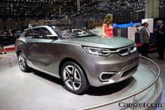 The future of 2018-2019 SsangYong crossover concept of SIV-1