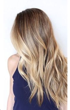 Brunette Balayage & Hair Highlights Picture Description Ombré - #Color https://looks.tn/hairstyles/color/brunette-balayage-hair-highlights-ombre-3/