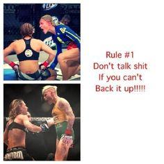 Women's MMA #1 Rule