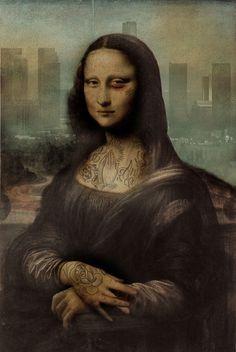 Mona Lisa vs Los Angeles