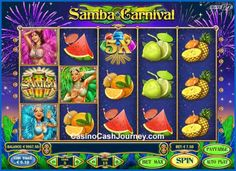 Samba Carnival is a 15-line and 5-reel video slot that's powered by Play'n GO. Symbols in this game pay on adjacent reels, so there are many more ways to win than it'd seem. Plus, icons appear stacked and Wilds have a multiplier of up to x5. There's also a bonus game added for even better carnival feel.  http://www.casinocashjourney.com/blog/samba-carnival-slot-playn-go/