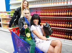 Chanel's Fashion Show Took Place in a Supermarket—See the Pics ...