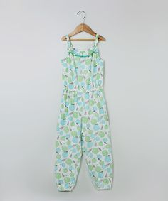 Take a look at this Beebay Blue Marigold Jumpsuit - Girls today!