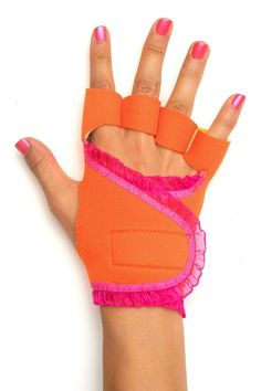 orange and pink gloves - Google Search