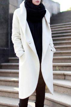Hooded Winter White ~ Fabulous