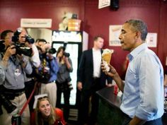 [Not hard to believe the Democrats are aligned with the Communist party]...Democrats' Happy Memorial Weekend Tweet: No American Flag, Just Obama and Ice Cream