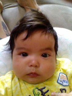 My handsome little man, Nimii Giizis.