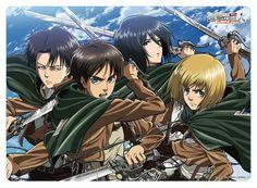 699892f237e6c Trends International Attack on Titan Swords Poster -