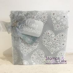 Stamps by Chloe - Snowflake Heart - - Stamps By Chloe Snowflake Heart - Chloes Creative Cards Chloes Creative Cards, Stamps By Chloe, Create And Craft Tv, Parchment Cards, Snowflake Cards, Christmas Inspiration, Clear Stamps, Christmas Cards, Christmas Ideas