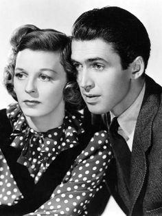 "Jimmy Stewart and Margaret Sullavan for ""The Shop Around the Corner"" (1940)"