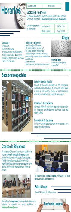Guía de centro Biblioteca de Ciencias parte interior (2007)