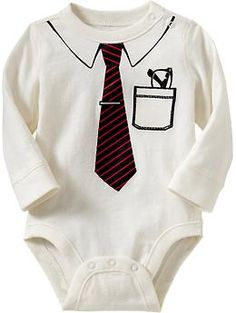 My child would TOTALLY have this!!!    Graphic Bodysuits for Baby   Old Navy