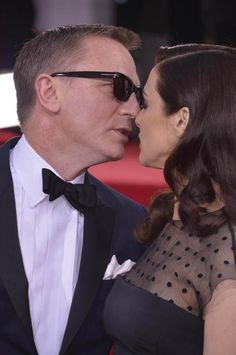 Daniel Craig and Rachel Weisz at Golden Globes 2013