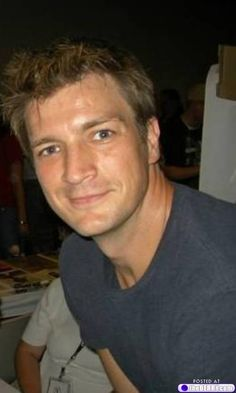 Nathan Fillion...Mancandy Monday!