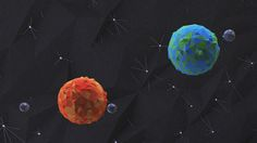 Low poly Planets on Behance