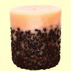 Lumanari handmade Aromaterapeutice Pillar Candles, Cosmetics, Candles