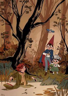Pretty Art, Cute Art, Les Moomins, Whats Wallpaper, Arte Peculiar, Moomin Valley, Over The Garden Wall, Wow Art, Animation