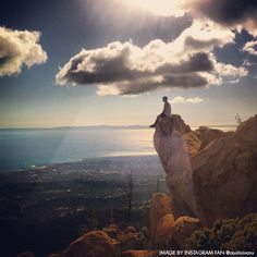 Hit the trails! Views like this are available when hiking in Santa Barbara.