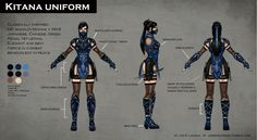 Mortal Kombat X: Fatal Gemini Pack *FAN MADE Concept Art* Kitana A skin pack I thought of for Kitana and Mileena for the upcoming Mortal Kombat X! Kitana's skin is klassicaly inspired but I made it so...