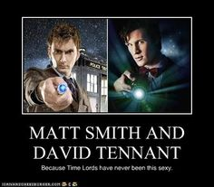 This demotivational poster is currently my desktop background...but there are so many Dr. Who Pics to choose from...