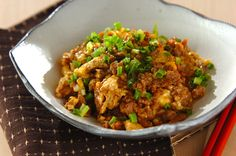 豚ひき肉の卵炒めのレシピ・作り方 - 簡単プロの料理レシピ | E・レシピ