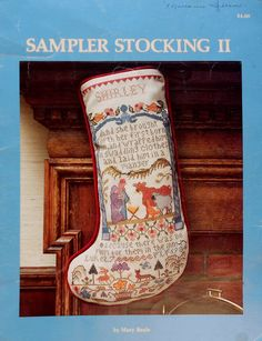 Mary Beale CHRISTMAS Sampler STOCKING II 2 by ThePamperedStitcher, $14.75