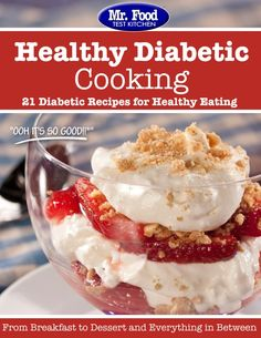 Welcome to the ultimate starter kit for low sugar recipes with our first free eCookbook where we'll show you some of our favorite diabetic recipes from healthy appetizers to mouth-watering main dishes to tasty, low sugar desserts.