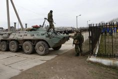 PHOTO: Russian troops in Feodosiya, Crimea 2 March 2014 2. #Crimea #Russia #Ukraine
